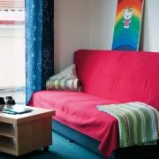 Fürstenberg rotes Sofa